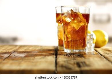sweet cold ice tea