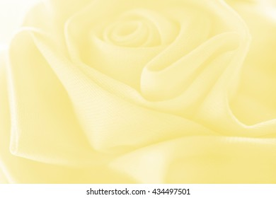 Sweet color rose from fabric soft blur background