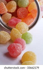 sweet colored confectionery beans for the kids