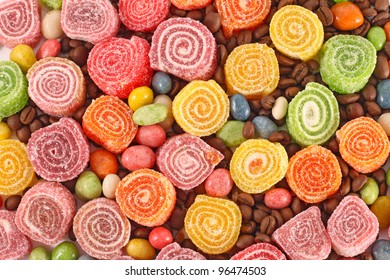 Sweet colorful background