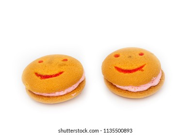 Sweet cookies with a smile