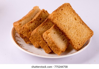 sweet & crispy toast or rusk image