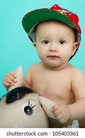 Sweet cute little boy