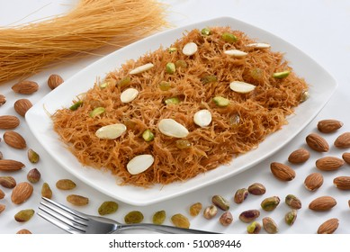 Sweet and delicious vermicelli also known as seviyan