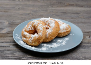 sweet donuts on a plate
