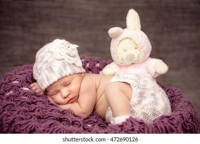 Sweet dream of the newborn child