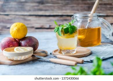 sweet drink in summer