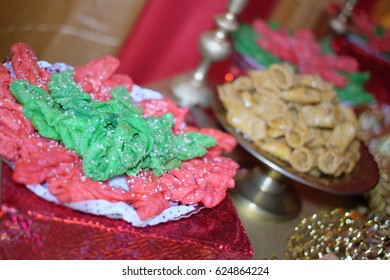 Sweet foods in a variety of colors for special design
