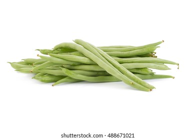 sweet fresh green peas isolated on white background.