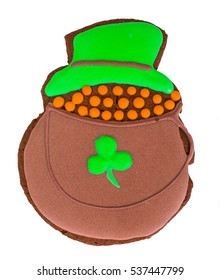 Sweet Gingerbread for St. Patricks Day Studio Photo