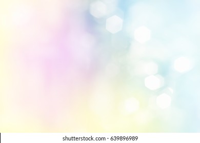 sweet glitter, sweet color bokeh, focus soft blur, sweet color filter abstract for background