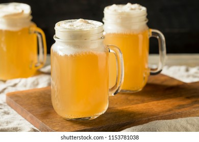 Sweet Homemade Butterscotch Butter Beer in a Mug