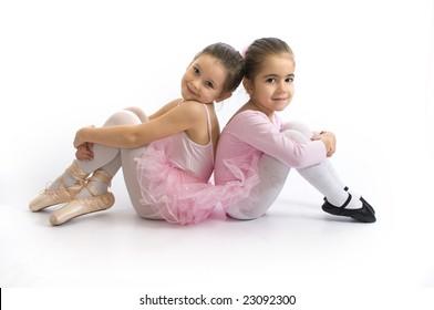 Sweet little ballerinas