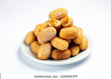Sweet milk mini churros