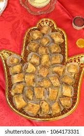 Sweet moroccan cookies