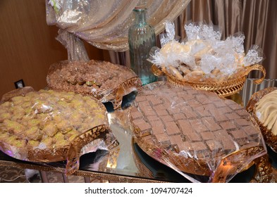 Sweet Moroccan nuts. Sweet Chocolate. Made in Moroccan Wedding