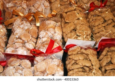 sweet nuts pastries