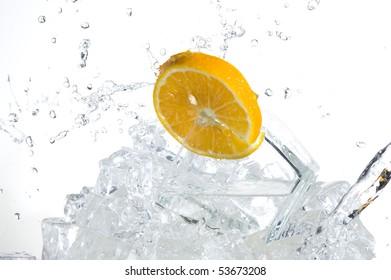 Sweet orange and fresh water