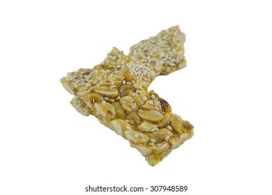Sweet Peanuts Stick (Thai Snack)