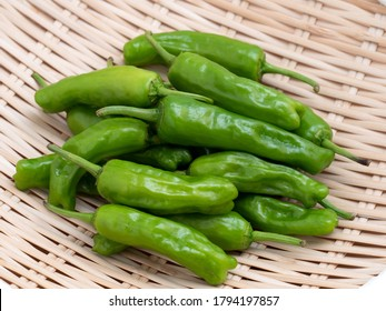 """sweet pepper. It is called """"shishito"""" in Japanese."""