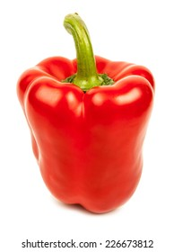 Sweet pepper isolated on a white background