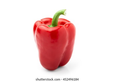 Sweet pepper on a white background