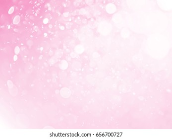 sweet pink bokeh abstract background
