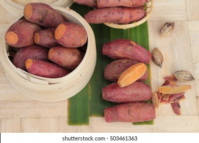 sweet potato boiled is delicious