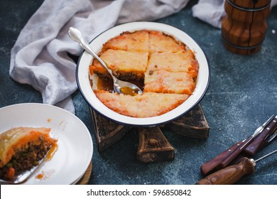 Sweet potato pie with beef mince meat and other vegetables. Recipe sweet potato pie crust.