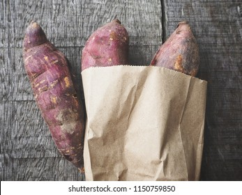 Sweet potato roasted Japanese food