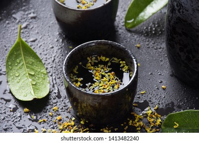 Sweet scented osmanthus tea image