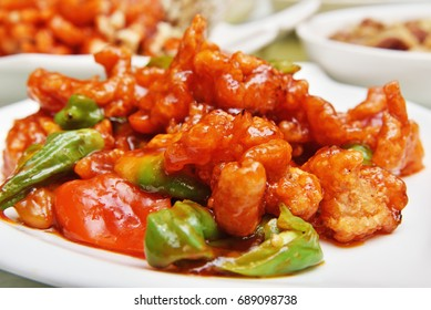 Sweet and sour pork  - A Popular Chinese food
