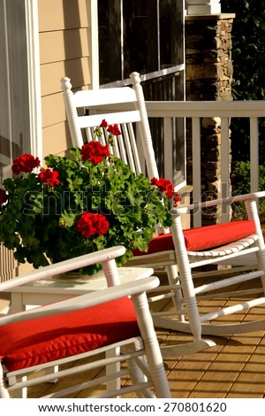 Brilliant Sweet Southern Life Rocking Chairs On Stock Photo Edit Now Gmtry Best Dining Table And Chair Ideas Images Gmtryco