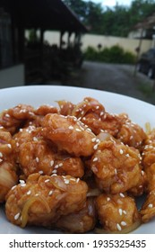 sweet and spicy korean chicken