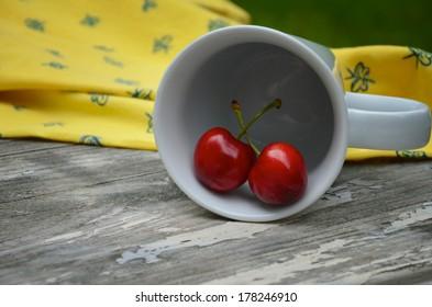 Sweet Summer Cherry Cup