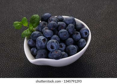 Sweet tasty Blueberry in the bowl