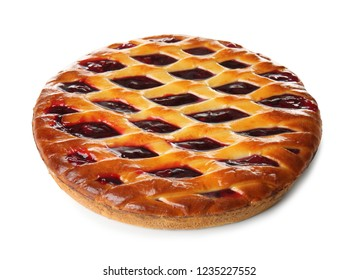White Christmas Pie.Cranberry Cake Isolated Images Stock Photos Vectors