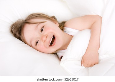 sweet toddler little girl sleeping