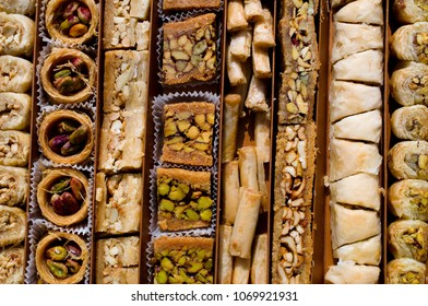 Sweet traditional Arabic pastry
