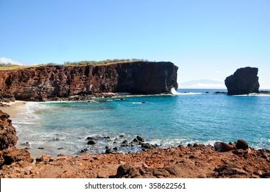 Sweetheart Rock, Lanai, Hawaii
