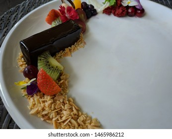 Mousse On Black Plates Images, Stock Photos & Vectors | Shutterstock