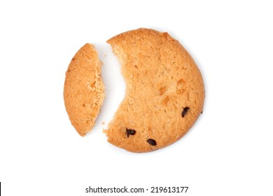 sweets cookie isolated on white background