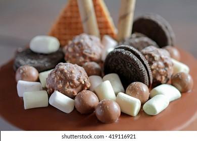 sweets in macro