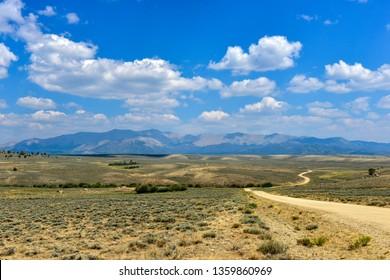 Sweetwater Gap Road near Boulder, Wyoming