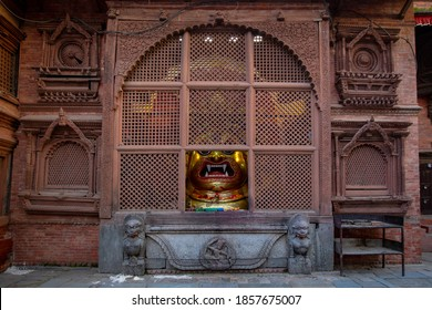 Swet Bhairab depicts the most dangerous face of Lord Shiva. The mask of Swet Bhairab is kept throughout the year and taken out only during Indra Jatra.