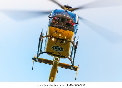 Swidnik, Lublin / Poland 10.Oct.2019: Helicopter Polskie Lotnicze Pogotowie Ratunkowe / Poland Medical Air Rescue SP-HXU Eurocopter EC 135P2+ Serial #: 0936