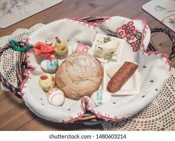 "Swieconka meaning ""the blessing of the Easter baskets,"" is one of the most enduring and beloved Polish traditions on Holy Saturday. The tradition of food blessing at Easter"