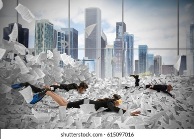 Swim in the bureaucracy