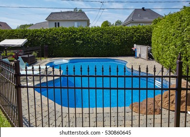 Fence Swimming Pool Images, Stock Photos & Vectors ...