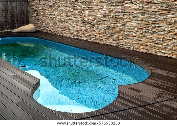 Swimming Pool Blue Dirty Water Brown Stock Photo (Edit Now) 575538253